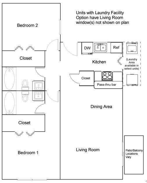 Oak Court Denton College Apartment Source