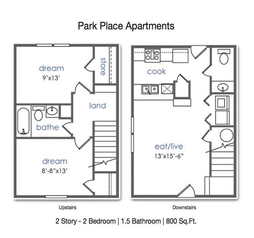 Park Place Denton College Apartment Source