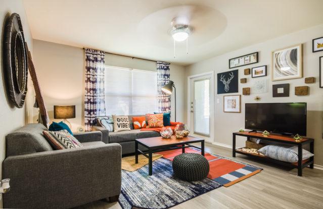 GatewayatDenton Living Room - photo